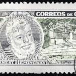 Hemingway Stamp 3 — Stock Photo