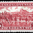 Stock Photo: Prague Stamp