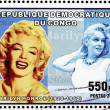 Marilyn Stamp 2 — Stock Photo