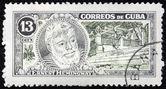 海明威邮票 3 — 图库照片