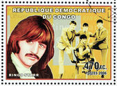 Ringo Starr Stamp — Stock Photo