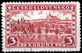 Prague Stamp — Stock Photo