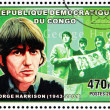 George Harrison Stamp — Stock Photo #29603413
