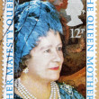 Stock Photo: Queen Mother Stamp