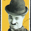 Stock Photo: Charlie Chaplin Stamp