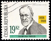 Sigmund Freud Stamp — Stock Photo
