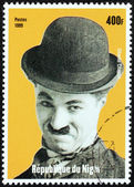 Charlie Chaplin Stamp — Stock Photo