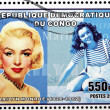 Marilyn Stamp 1 — Stock Photo