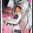 Audrey Hepburn Stamp — Stock Photo #29955853