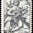 Jacob de Gheyn Stamp — Stock Photo