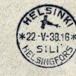 Stockfoto: Finnish Air Mail Postmark