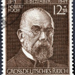 Stock Photo: Robert Koch Stamp