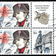 Napoleon Bonaparte Stamps — Stock Photo