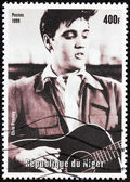 Presley - Niger Stamp — Stock Photo