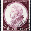 Mozart Stamp 1941 — Stock Photo