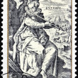 Stock Photo: Crispin de Passe Stamp