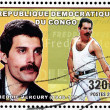 ������, ������: Freddie Mercury Stamp