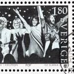 Постер, плакат: ABBA stamp