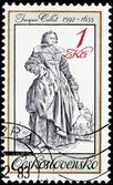 Jacques Callot Stamp — Stock Photo