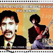 Frank Zappa Stamp — Stock Photo