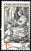 Adriaen Collaert Stamp — Stock Photo