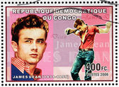 James dean-stempel — Stockfoto