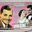 Clark Gable Stamp — Stock Photo