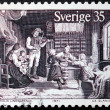 Stockfoto: Country Dance Stamp