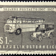 Old Bus Stamp — Photo
