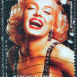 Marilyn Stamp from Madagascar-2 — Stock Photo