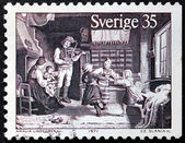 Country Dance Stamp — Stockfoto