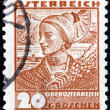 Upper Austria Stamp — Stock Photo