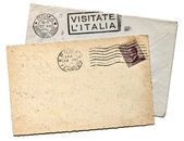 Italian Postcard — Stock Photo