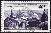 Pic du Midi Stamp — Stock Photo