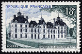Cheverny Chateau Stamp — Stock Photo