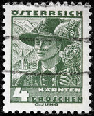 Carinthia Man Stamp — Stock Photo