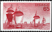 Regatta Stamp — Foto Stock
