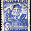Lower Austria Stamp — Stock Photo