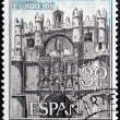 Burgos Stamp — Stock Photo