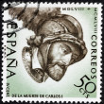 Постер, плакат: Charles V Stamp