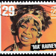 Ma Rainey Stamp — Stock Photo