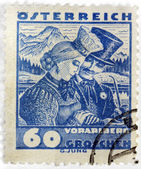 Vorarlberg Stamp — Stock Photo