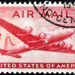 US Airmail Stamp — Stock Photo