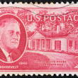 Roosevelt Stamp — Stock Photo #35196135
