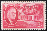 Roosevelt Stamp — Stock Photo