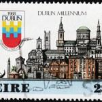 Dublin 1988 Stamp — Stock Photo