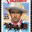 Stock Photo: John Wayne Stamp