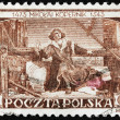 Stock Photo: Copernicus Stamp