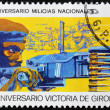 Cuban Soldier Stamp — Stock Photo