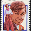 Will Rogers Stamp — Stock Photo